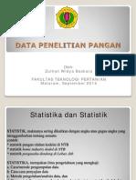 2. Tipe Data Penelitian Pangan