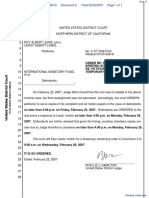 Lewis v. International Monetary Fund et al - Document No. 9
