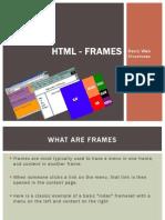 HTML - Frames