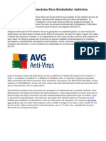 AVG Remover No Funciona Para Desinstalar Antivirus