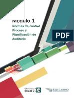 Módulo 1 - Lectura 1 - Normas de Control Proceso y Planificación de Auditoría
