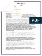 inf LAB ANALITICA N° 10