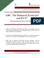 ABC, The Balanced Scorecard and EVA