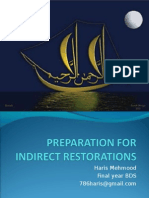Indirect Restorations Haris