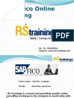 SAP FICO Corporate Training | Sap Fico Online Training