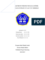 Laporan Praktikum Trafo 2 Belitan Dan Autotrafo Berbeban
