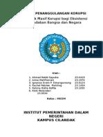 Paper Penanggulangan Korupsi