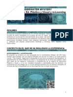 Proyecto Mlearning Underwater Mystery - Ed. Plástica y Visual