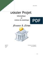 Projet ISN Finance & News