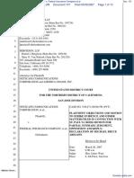 Netscape Communications Corporation et al v. Federal Insurance Company et al - Document No. 101