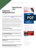 Apa itu Run as Administrator, Apa Fungsinya, dan Bagaimana Mengaktifkannya.pdf