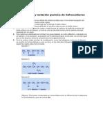 Nomenclatura y Notación Química de Hidrocarburos No Saturados