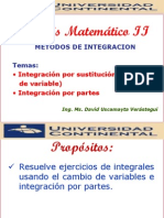 Integracion Por Cambio de Variable