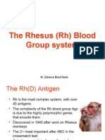 Rh Blood Group System Mazen