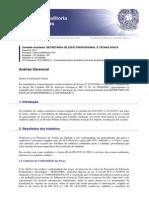 Relatório Da Cgu a Setec 2011