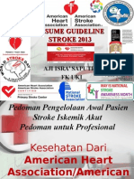 Guideline Stroke Resume 2013