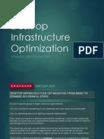 Desktop Infrastructure Optimization