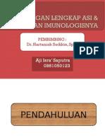 kandungan lengkap pada asi dan peranan imunologisnya