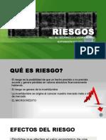 RIESGOS Sector Financiero Popular y Solidario