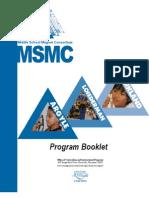 2008 MSMC MCPS Program Booklet