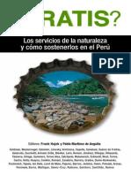 Los servicios de la naturaleza y como sostenerlos (Peru)