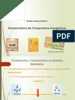Formulacion Inorganica Quimica