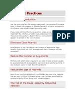 OOP Best Practices