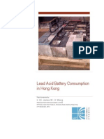 Lead Acid Battery Consumption 31 Dec 2014