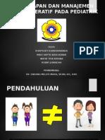 Anestesi Pediatri