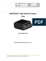 MEITRACK TC68 OBD Vehicle Tracker User Guide V1.5