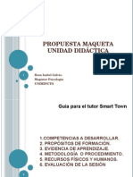 Propuesta Maqueta Unidad Didáctica Smart Town