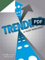 Trending in Talent Management eBook