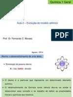 Aula 2 - Evolução do modelo atômico.pdf