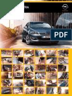 Catalogo Gama Opel Astra MY15.0