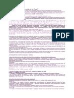 Unión Civil No Matrimonial en El Perú