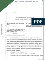 K.C., et al v. O'Connell, et al - Document No. 81