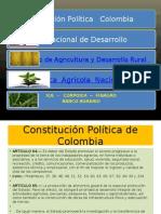 BASES PARA EL SECTOR AGROPECUARIO COLOMBIANO