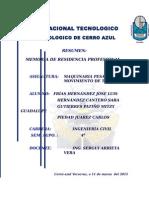 """""""SUPERVISIÓN DE LA RECONSTRUCCIÓN DE CAMINO LA VICTORIA- EJIDO CAZONES"""