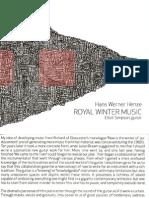 Henze - Royal Winter Music