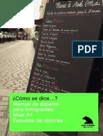 Cómo Se Dice. Manual Español Inmingrantes, Caja Madrid.