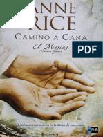 Anne Rice - Camino a Cana