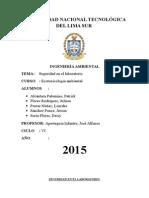 ecotoxicologia informe Nº 1