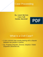 civil cases procedure