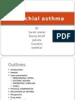 asthma- case presentation