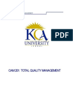 TOTAL QUALITY MANAGEMENT MANUAL