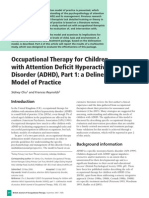 OT for Children With ADHD