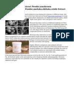 China Mushroom Extract Powder,mushroom Extract,mushroom Powder,maitake,shiitake,reishi Extract