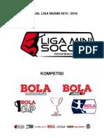 Manual Liga Mini Soccer Indonesia - Musim 2015-2016