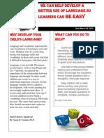 language newsletter
