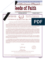 Seeds of Faith - Special Edition Spring 2015